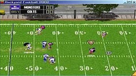backyard football 2001 backyard football 2002 download free game ocean of games