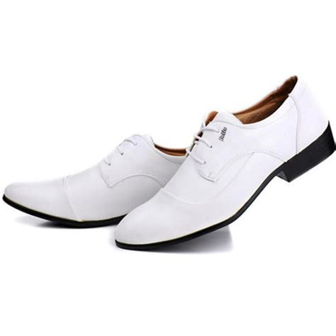 popular mens white leather dress shoes buy cheap mens