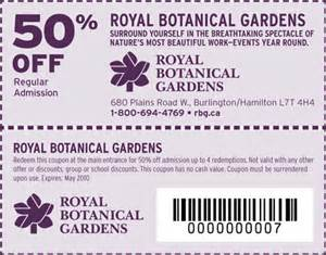 Botanical Gardens Discount Royal Botanical Gardens Coupons Rbg Canada 50 Canadian Freebies Coupons Deals