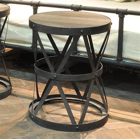 vintage wood and metal bar stools furniture black wrought iron bar stool with
