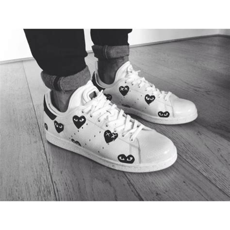 play shoes adidas stan smith comme des garcons