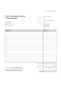 Exles Of Invoice Templates by Sales Invoice Sle