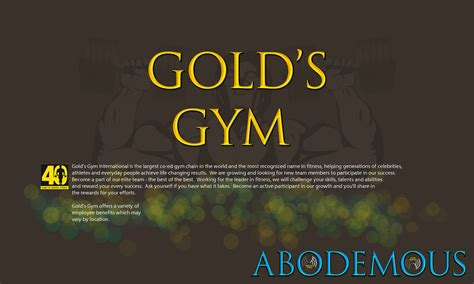golds gym the fan gold s gym by abodemous on deviantart