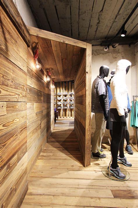 Retail Spaces Buku Interior patagonia retail design interior design store trento concept design production