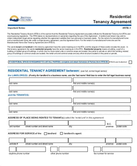 rent to own house contract form rent to own house contract 5 exles in word pdf