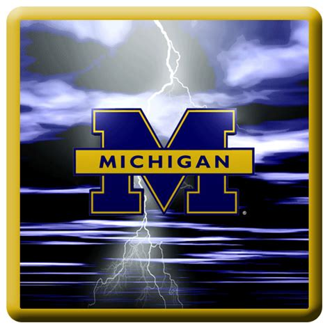 themes of mi mobile michigan wolverines screensaver and wallpaper