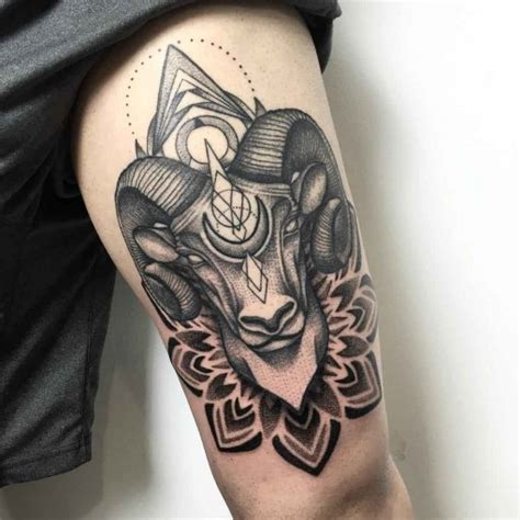 zodiac tattoo cover up ram tattoo dotwork tatuajes pinterest ram tattoo