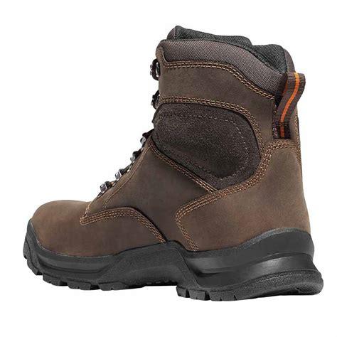 danner work boots danner crafter 6 inch brown waterproof work boot