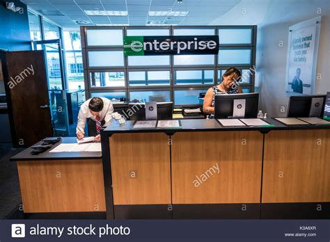 front desk jobs in miami car rental desk stock photos car rental desk stock