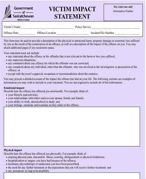 Resume Impact Statement Examples by 28 Business Impact Statement Template 10 Business