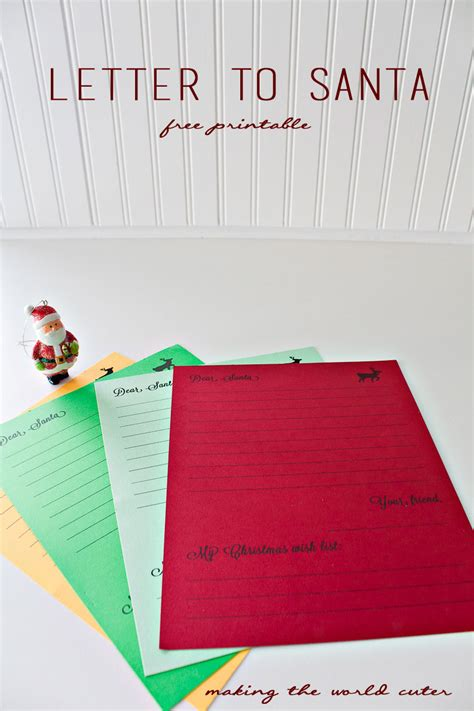 letters from santa template letter to santa template 1456