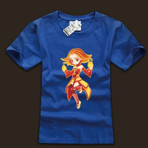 Outworld T Shirt Dota 2 quality white tshirt dota lina wishining