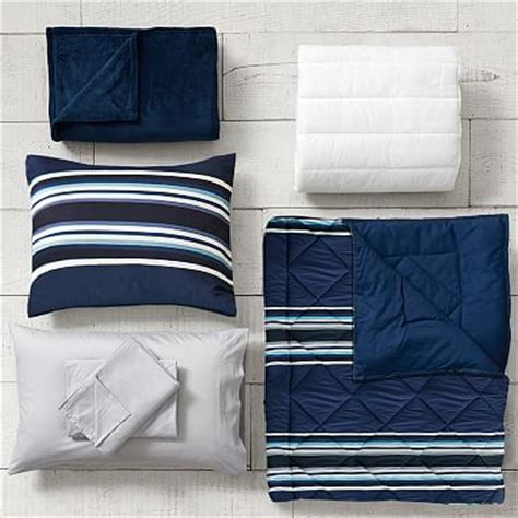 Tos Salsabilah Navy Gamis Set sideline stripe deluxe value comforter set with comforter sheet set pillowcase mattress pad
