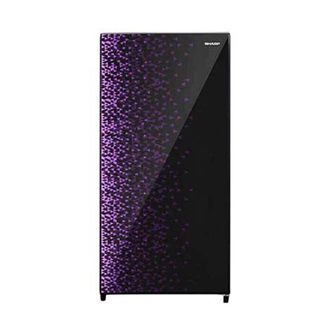 Lemari Es Sharp 1 Pintu jual sharp sj x165mg lemari es ungu 1 pintu 133 l