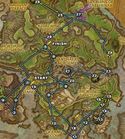 Round Table Mountain View Leveling Guide Azsuna Nightwalkers Feathermoon Wow