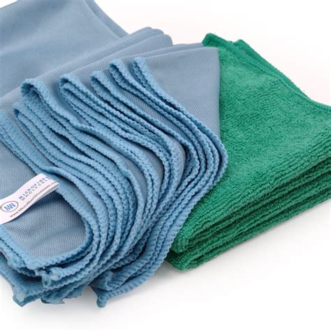 Micro Fiber Cleaner by Microfiber Glass Cleaning Cloths 8 Pack Lint Free
