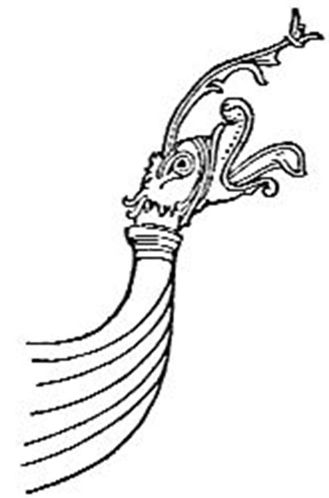 viking figurehead template the navy book by cyril field