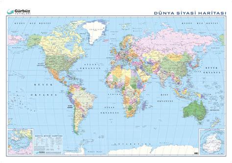 duenya siyasi haritasi xcm