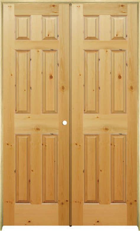 Knotty Pine Prehung Interior Doors Mastercraft 174 48 Quot X 80 Quot Knotty Pine Raised Arch 6 Panel Prehung Interior Door Left Inswing