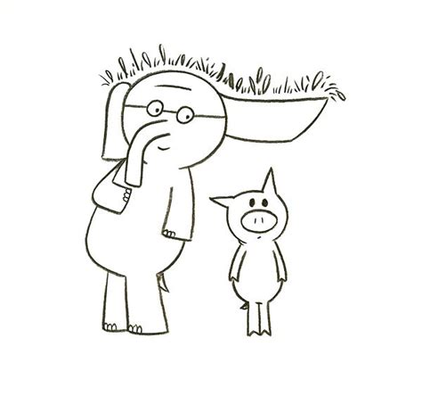 mo willems coloring pages elephant and piggie best of every day is 57 best elephant and piggie images on pinterest mo