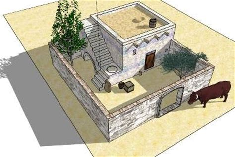 ancient middle eastern homes with flat roofs bet ilim canaanite inside an ancient canaanite