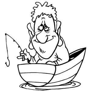 coloring pages fishing lures fishing with small tackle coloring page