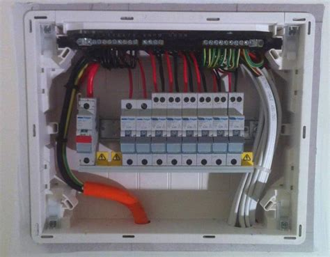 house electric board small sub board installation photo eastside electrical