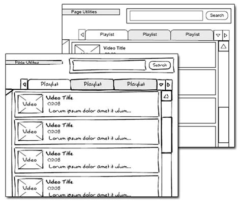 visio wireframe tutorial 1000 images about wireframe on sketching