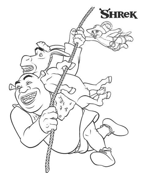 shrek coloring pages games free printable shrek coloring pages for kids