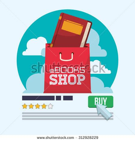 ebook format with illustrations sale banner design vector eps 10 stock vector 455287489