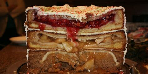 piecaken is a pie inside a cake dessert you always wanted for thanksgiven