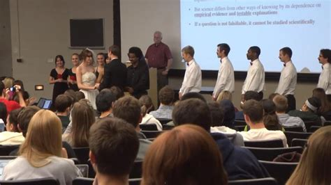 faking the o re entering the dating circle books wedding prank disrupts u of m biology class