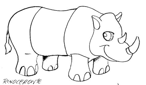imagenes para colorear rinoceronte desenhos animais desenhos para imprimir e pintar desenho