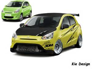 Mitsubishi Mirage Modified Mitsubishi Mirage By Kiesupra On Deviantart
