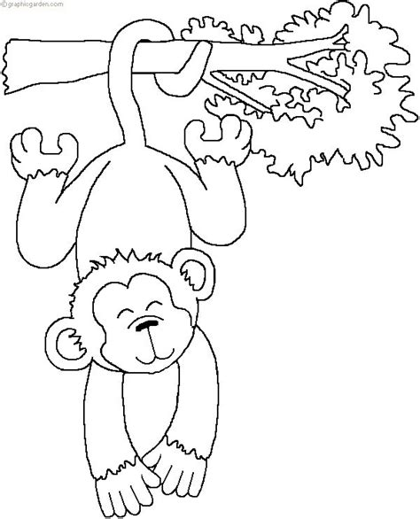 monkey coloring pages for preschool 66 best coloring zoo images on pinterest
