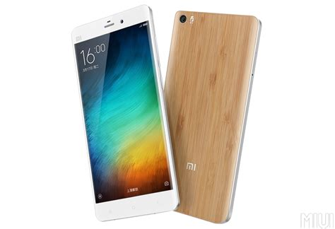 Mi Note xiaomi introduces mi note bamboo edition