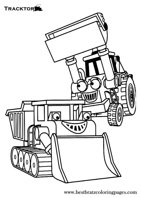 Coloring Page Tractor by Free Printable Tractor Coloring Pages For Coloring