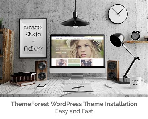 themeforest wordpress theme installation by nicdark on