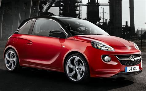 vauxhall car vauxhall unveils adam city car the driven