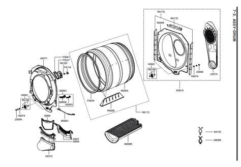whirlpool duet dryer parts diagram whirlpool duet sport schematic get free image about