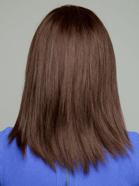 common mediumlength hair styles back views back view of shoulder length hair