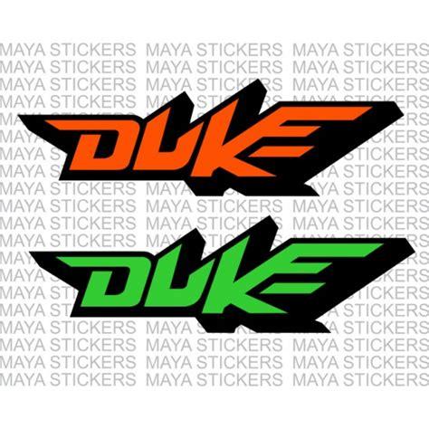 Ktm Helm Sticker by Ktm Duke Logo Stickers