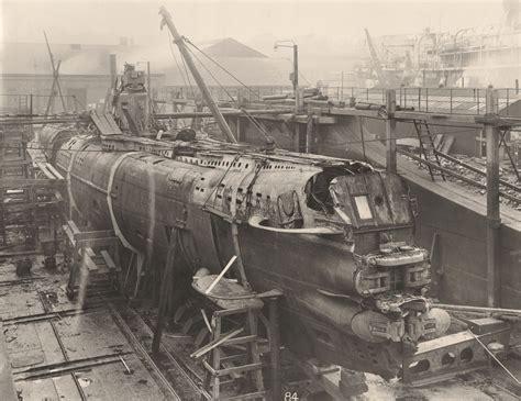 A rare glance into the heart of a WWI German U-boat ... U Boat
