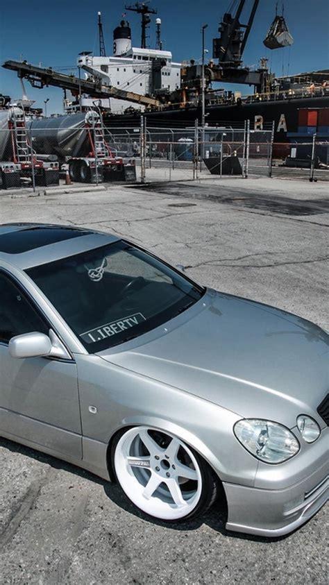slammed cars iphone wallpaper lexus gs gs300 slammed cars wallpaper 46591