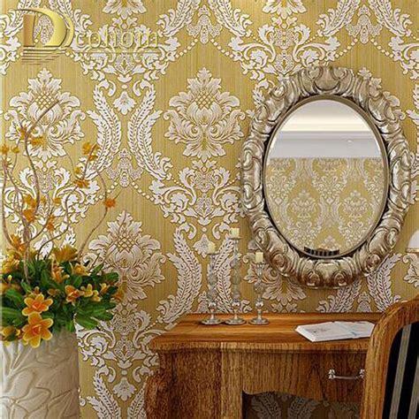 european damask diamond wallpaper 3d stereoscopic modern european embossed damask wallpaper 3d stereoscopic design