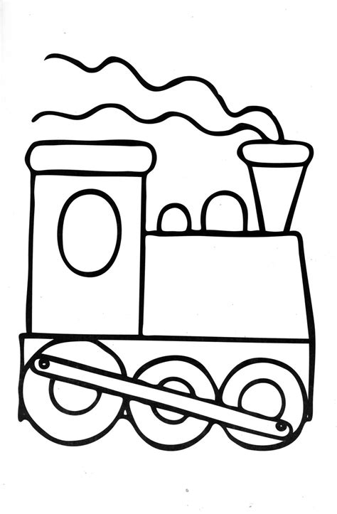 train coloring pages for kids coloring ville