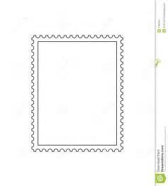 postage stamp outline stock images image 4766944