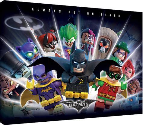 lego batman wallpaper mural canvas print lego 174 batman always bet on black sold at