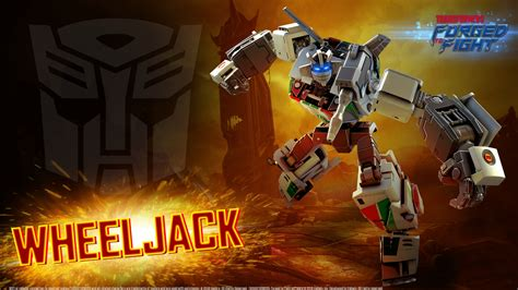 wheeljack   transformers forged  fight
