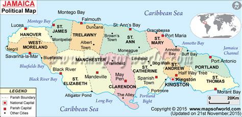 jamaica map with cities sicklesense sickle cell facts and research